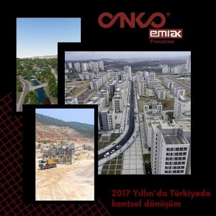 Türkiyede 2017'de Kentsel Dönüşüm Hızlandı